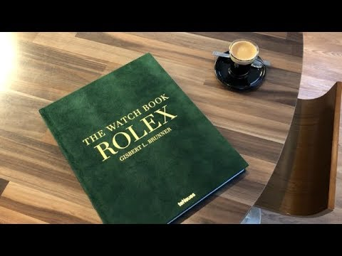 Book Review The Watch Book Rolex Youtube