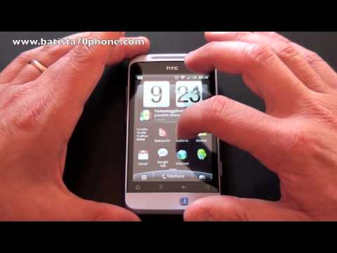 HTC Salsa video recensione by batista70phone
