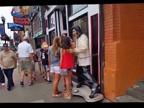 Walkin' on Broadway Downtown Nashville