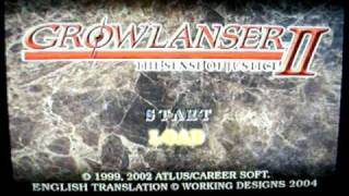 Growlanser Generations for Playstation 2 (Rare, Exclusive)