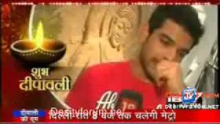 Karan Kundra & Kritika Kamra On Serial Jaisa Koi Nahin IBN 7 (Diwali Special) 5th Nov 2010