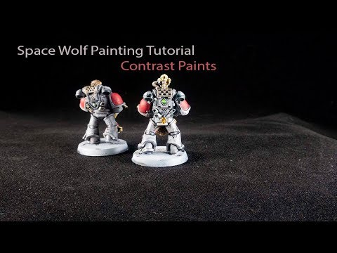 How to paint Space Wolves with Contrast Paints