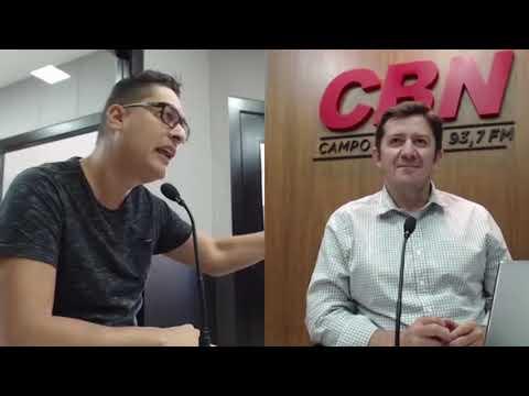 Entrevista CBN Campo Grande: Bruno Menegazzo - produtor de eventos