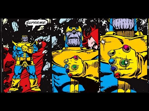 Avengers Infinity War Comic Book Influences
