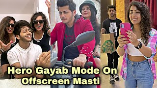 Hero Gayab Mode On | Offscreen Moments | Abhishek Nigam | Siddharth Nigam | Chinki Minki