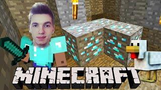 Minecraft: EXPLORAÇÃO em BUSCA DE DIAMANTE! - Sobrevivendo com Lipão #12
