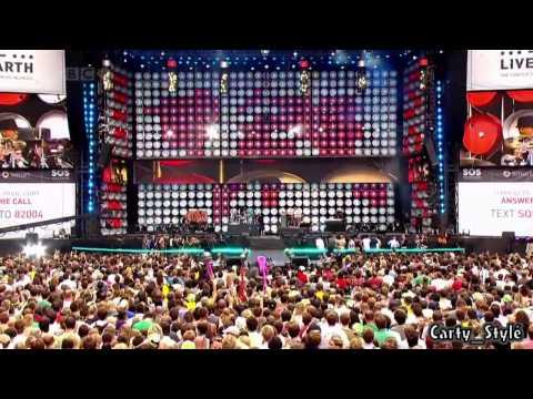 Black Eyed Peas - Pump It SOS | Live Earth | HD