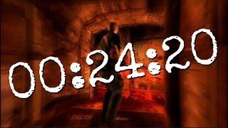 Resident Evil 4 HD - SPEEDRUN - 00:24:20 - FASTEST TIME EVER! - Walk Through Walls - (STEAM)