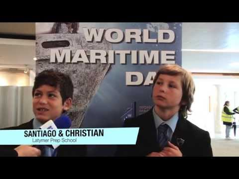 Students visit IMO to celebrate World Maritime Day