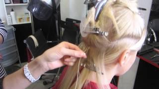 Курсы наращивания волос Киев. Как правильно наращивать волосы.