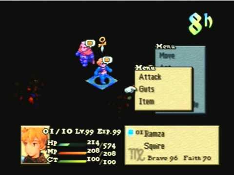 Final Fantasy Tactics Items