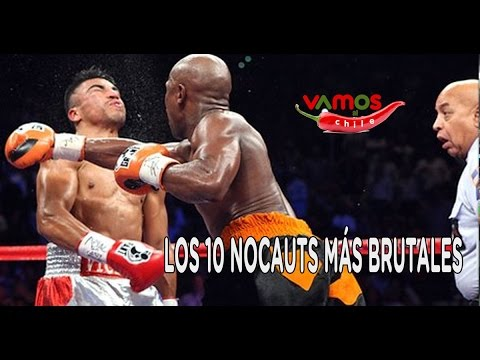 Top 10 knockout más brutales del boxeo - YouTube