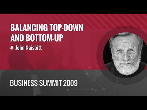 business summit 2009 › John Naisbitt