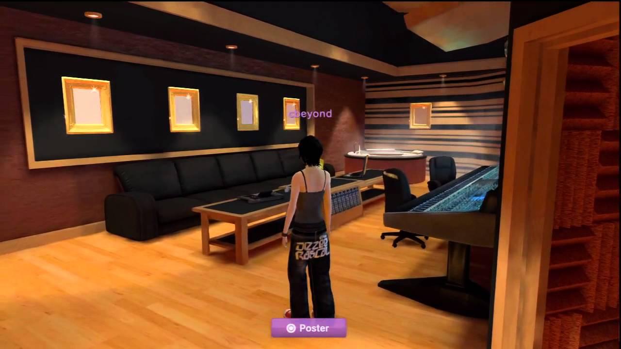 cbeyond's Def Jam Rapstar Studio in Playstation®Home - YouTube