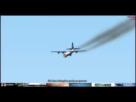 FSX Blue Angels 2015 El Centro airshow
