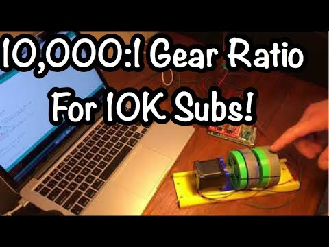 10,000 To 1 Gear Ratio To Celebrate 10,000 Subs!