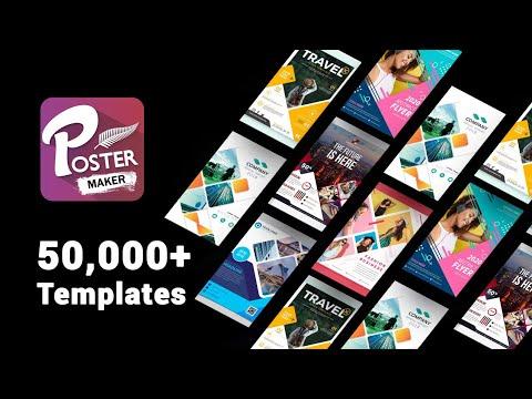 Poster Maker, Flyer Designer, Graphic Design, Card, Banner Maker In Android : Photoshop Tutorial