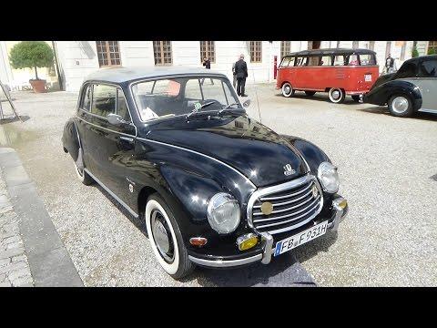 1956 Auto Union DKW F93 Sonderklasse - Retro Classics meets Barock Ludwigsburg 2016