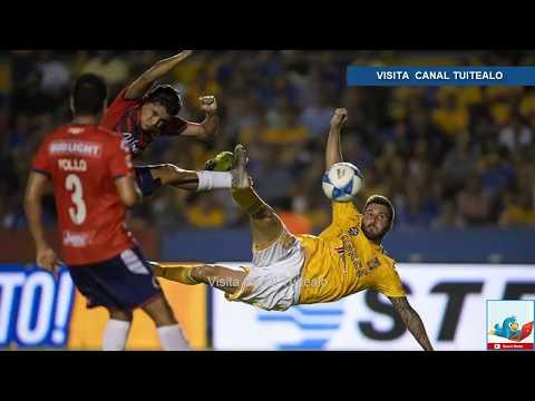 Tigres golea 4-0 al Veracruz en la Jornada 6 del Apertura 2018 Liga MX - 동영상