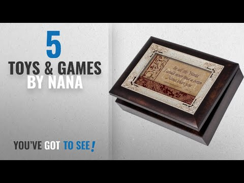 Top 10 Nana Toys & Games [2018]: Cottage Garden Nana Burlwood With Silver Inlay Italian Style Music