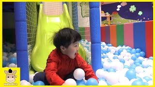 Indoor Playground for Kids and Family Fun Compilation | MariAndKids Toys