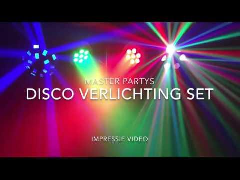 Discoverlichting huren met spots en effecten - YouTube