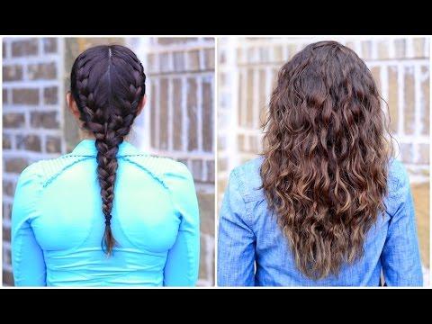 Boxer Braid NoHeat Curls  Cute Girls Hairstyles  YouTube