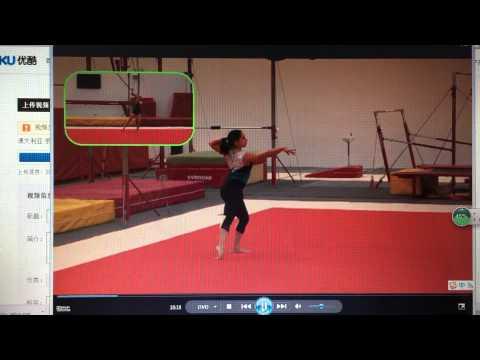 Nation level 5 floor gymnastics
