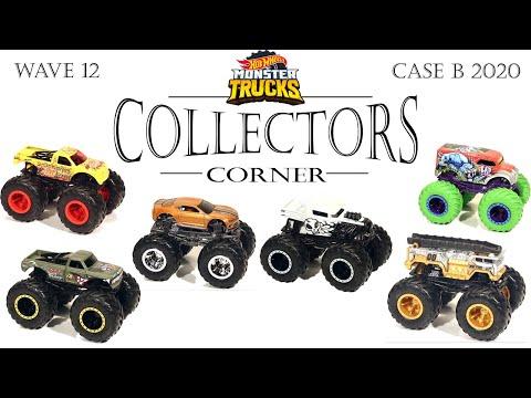 Hot Wheels Monster Trucks Wave 12  New Castings & New Decos - CASE B 2020 [COLLECTORS CORNER]