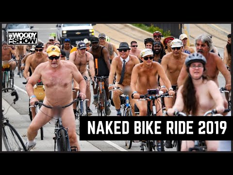 The Woody Show - World Naked Bike Ride - May I Smell Your Seat?