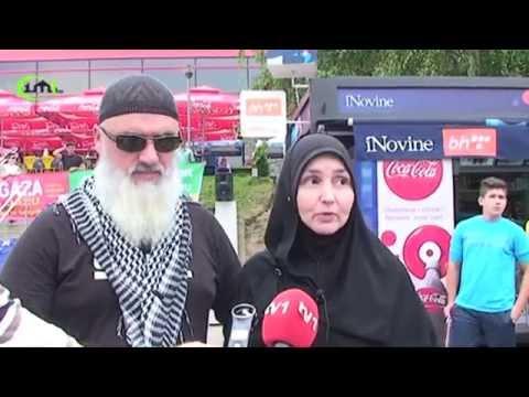 Skup podrške narodu Palestine  - Gazze - Juli 2014. (IML TV)
