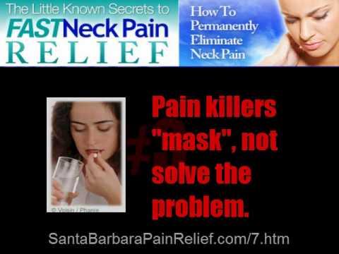 Dr. Zemella, Santa Barbara chiropractor explains secret to fast neck pain relief