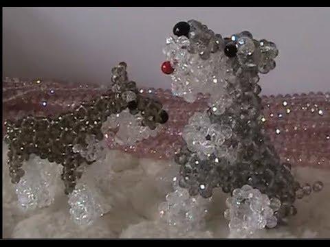 البوبي الشهير المطلوب beaded dog فيديو صيني )Doha Anwar3/3
