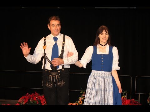 Fashions from Germany (Bavaria) at Cleveland multicultural party