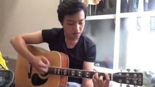 Guitar Acoustic Giáng sinh Trắng - Anh Hào
