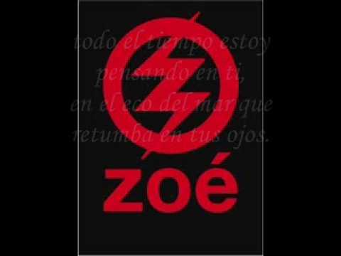 Zoe-Soñe (Letra)