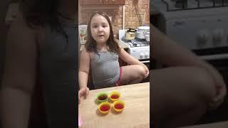 #дети #Настя #готовит #желе #еда