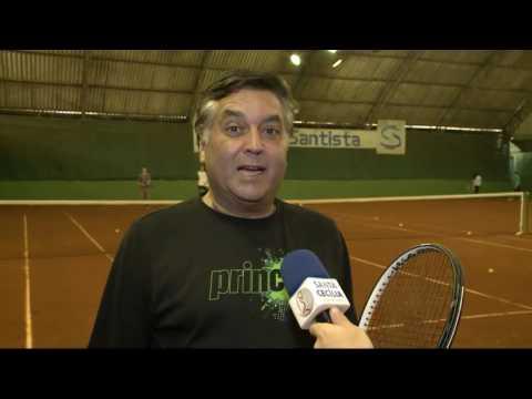 Santos recebe evento especial de tênis