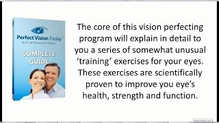 Perfect Vision Today Review - Does it Work