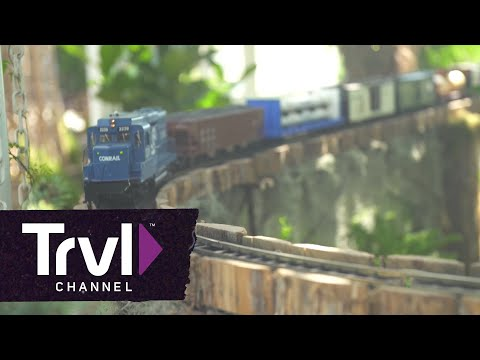 Behind the Scenes at the New York Botanical Garden Holiday Train Show