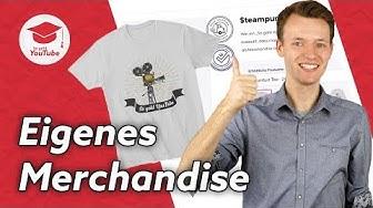 YouTube Merchandise: Geld mit T-Shirts und co verdienen