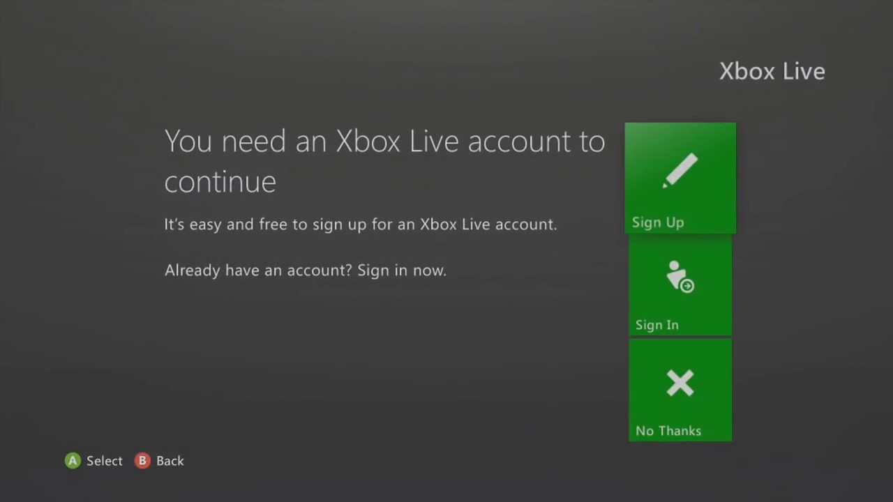 Xbox Sign In
