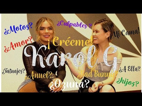 KAROL G - Culpables ¿Curiosidades que nadie conoce de ella?
