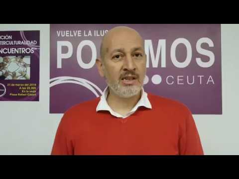 """Podemos Ceuta carga contra Sánchez por darle otra oportunidad """"a la extrema derecha"""""""