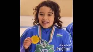 Салохиддин Азимов. 7-летний хоккеист Узбекистана