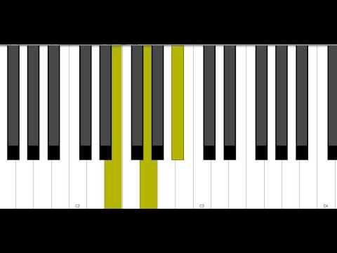 E Diminished Piano Chord Youtube