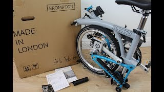 BROMPTON 2017 S6L Whats in the Box? *Unboxing*
