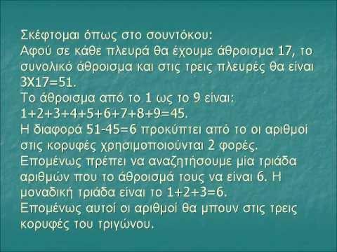 Μαθηματικά παιχνίδια και προβλήματα