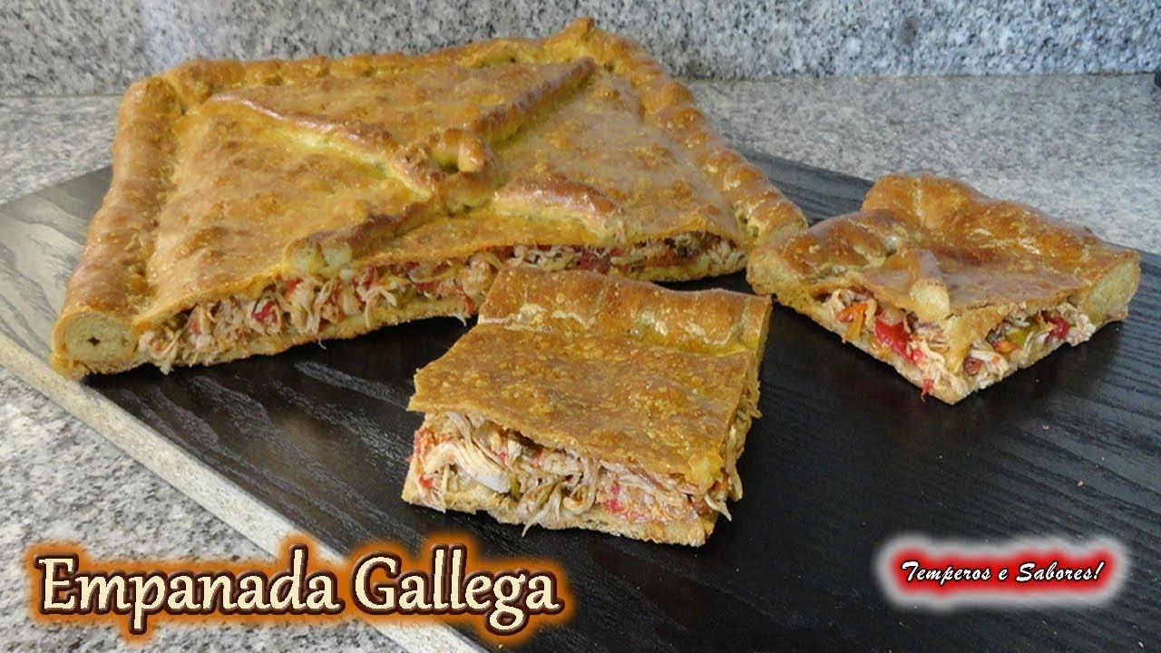 Empanada Gallega Con Pollo Receta Completa Relleno Masa Y Preparación Fácil Youtube