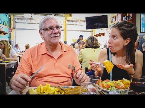 Viaje a Argentina 🇦🇷 | Primer Día en Buenos Aires Comiendo en Nuestro Bodegón Favorito